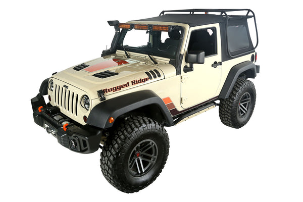 Exo-Top; 07-18 Jeep Wrangler JK, 2 Door - 13516.01