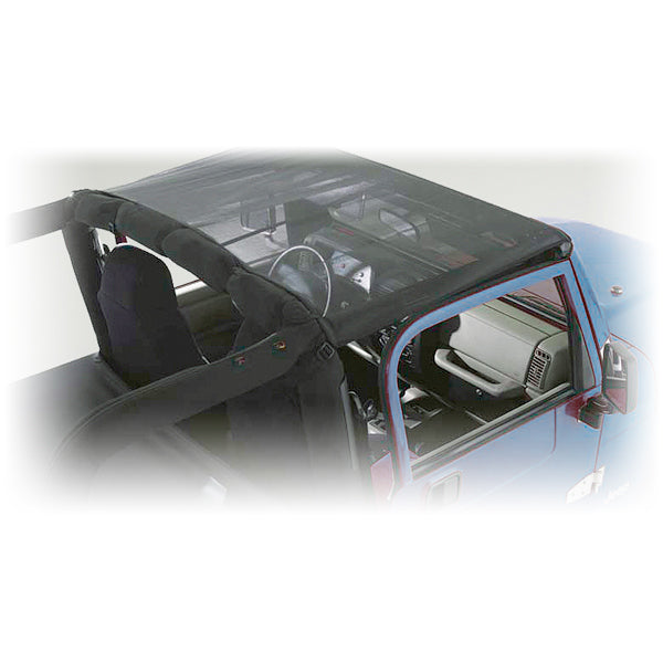 Summer Brief Top, Mesh; 07-09 Jeep Wrangler JK - 13579.02