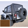 XHD Soft Top, Dark Tan, Tinted Windows; 97-06 Jeep Wrangler TJ - 13723.33