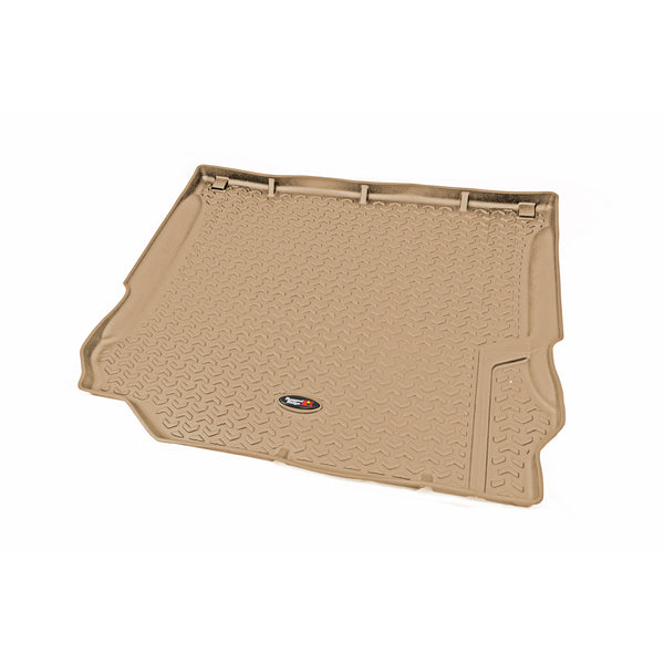 Floor Liner, Cargo; Tan, 2007-2010 Jeep Wrangler Unlimited JK 4 Dr - 13975.01