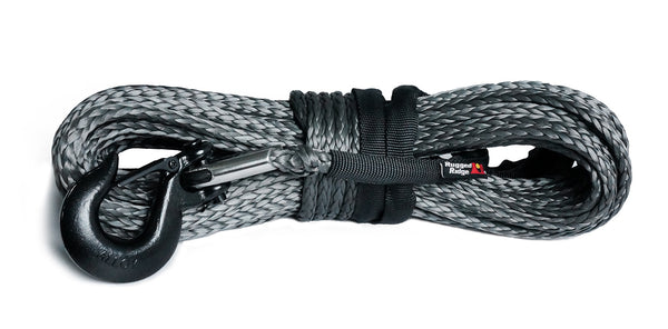 Synthetic Winch Line, Dark Gray, 25/64 inch x 94 feet, Universal - 15102.13