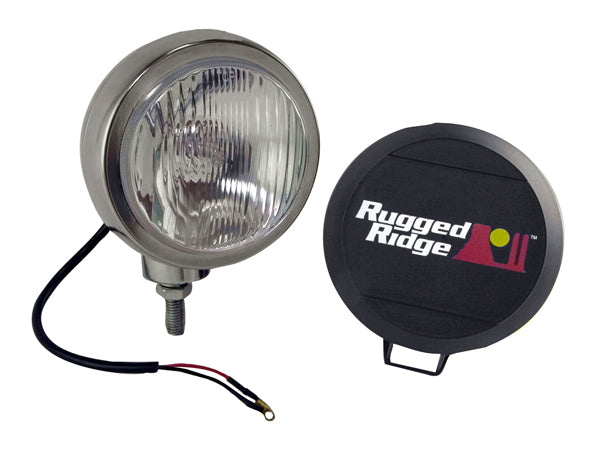 Light Kit, HID, 6 Inch, Round, Stainless Steel Housing - 15206.01