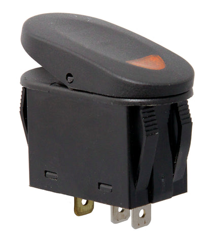 Rocker Switch, 2 Position, Amber - 17235.01