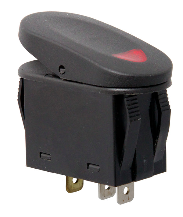 Rocker Switch, 2 Position, Red - 17235.02