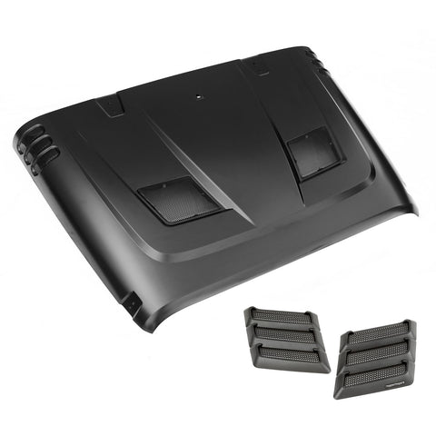 Performance Vented Hood Kit; 07-18 Jeep Wrangler JK - 17759.02