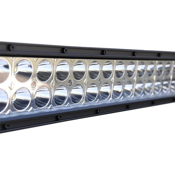 Jeep 30 Inch Light Bar 180W Flood/Spot 3W LED Chrome DV8 Offroad - B30CE180W3W