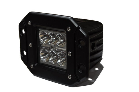 3 Inch Flush Mount LED Lights 20W Flood/Spot 5W Cree DV8 Offroad - B3FM24W3W