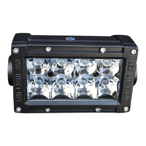 5 Inch Light Bar 24W Flood/Spot 3W LED Chrome DV8 Offroad - B5CE24W3W
