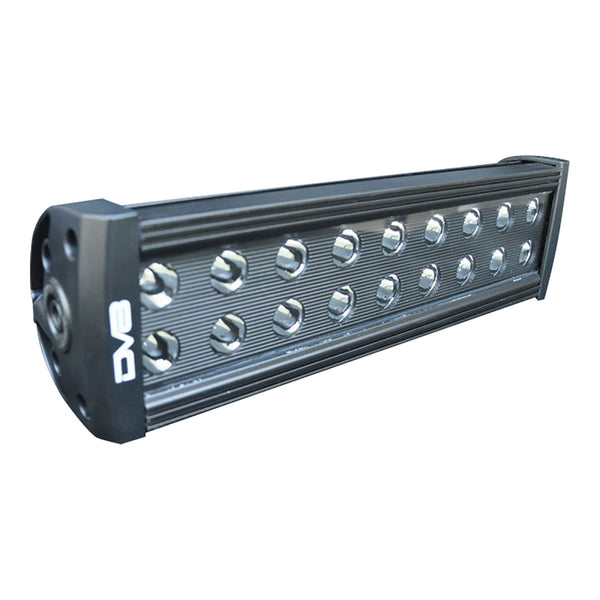 12 Inch Light Bar 72W Flood/Spot 3W LED Black DV8 Offroad - BR12E72W3W