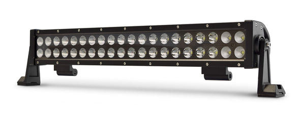 20 Inch Light Bar 120W Flood/Spot 3W LED Black DV8 Offroad - BR20E120W3W