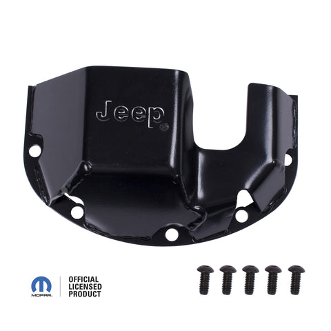 Skid Plate, Differential, Jeep logo, for Dana 30 - DMC-16597.30