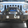 Jeep Wrangler JK / JL / Gladiator Steel Stubby Front Bumper with Fog Lights DV8 Offroad - FS-13