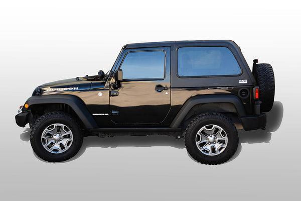 Jeep JK Hard Top Fast Back 07-18 Wrangler JK 2 Door 2 Piece DV8 Offroad - HT07FB22