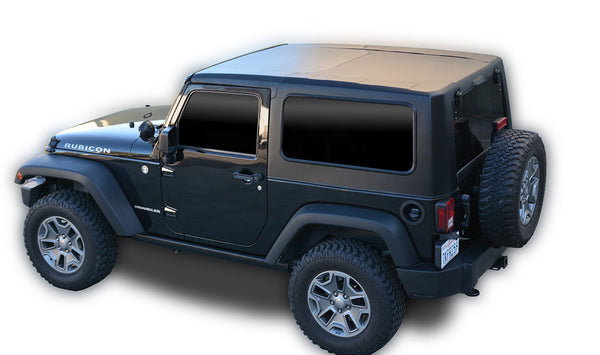 Jeep JK Hard Top Square Back 07-18 Wrangler JK 2 Door 2 Piece DV8 Offroad - HT07SB22