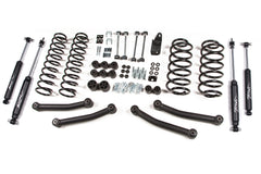 Jeep Wrangler TJ 4 inch Lift Kit Nitro Shocks (1997-2002) Zone - J10N