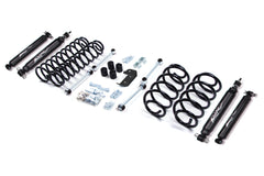 Jeep Wrangler TJ 3 inch Lift Kit Nitro Shocks (1997-2002) Zone - J2N