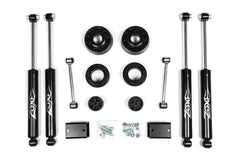 Jeep Wrangler JL 2 inch Lift Kit Coil Spring Spacers Nitro Shocks Zone - J30N
