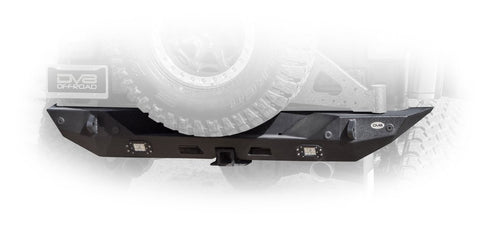 Jeep JL Rear Bumper with LED Lights 18-Present Wrangler JL DV8 Offroad - RBJL-01