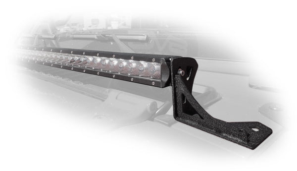 Jeep JL / Gladiator 40 Inch Led Light Bar Mount Over Hood 2/4 Door DV8 Offroad - LBJL-03