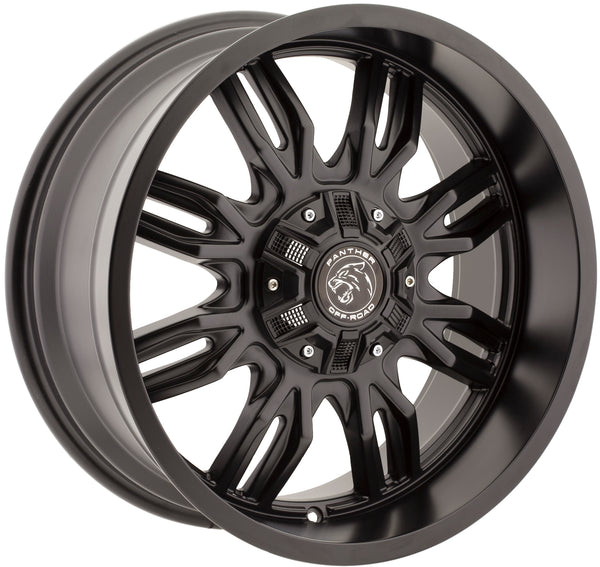 Panther Off-Road 580 Gloss Black 18x9 Wheels 580890060+00GB