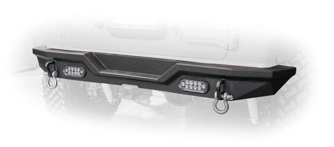 Jeep JL Rear Bumper with LED Lights 18-Present Wrangler JL DV8 Offroad - RBJL-03