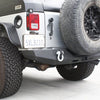 Jeep JK Rear Bumper 07-18 Wrangler JK Steel Full Length DV8 Offroad - RBSTTB-06