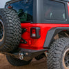 Jeep JL Tailgate Mounted Tire Carrier 18-Up Wrangler JL DV8 Offroad - TCJL-01