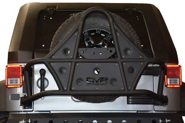 Tire Carrier 07-18 Jeep Wrangler DV8 Offroad - TCSTTB-01
