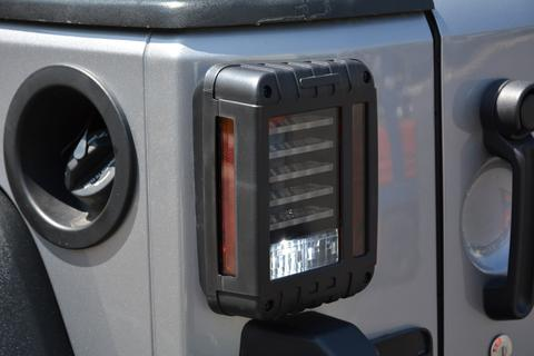 Jeep JK Horizontal LED Tail Light 07-18 Wrangler JK DV8 Offroad - TLJK-01