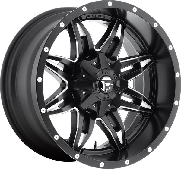 "Set of 5 20"" Fuel Off-Road Lethal Wheels and RBP 35"" Repulsor Tires"