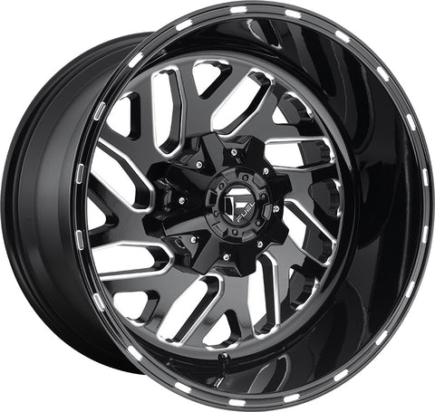 "Set of 5 20"" Fuel Off-Road Triton Wheels and RBP 35"" Repulsor Tires"