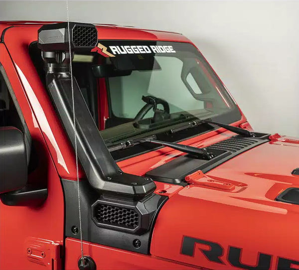 AmFib Low/High Mount Snorkel System; Jeep 18-Up Wrangler JL / 20-Up Gladiator JT - 17756.31