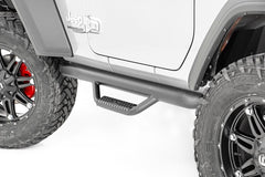 Jeep Wheel to Wheel Nerf Steps (2018-Up Wrangler JL 2-Door) - RCJ1846