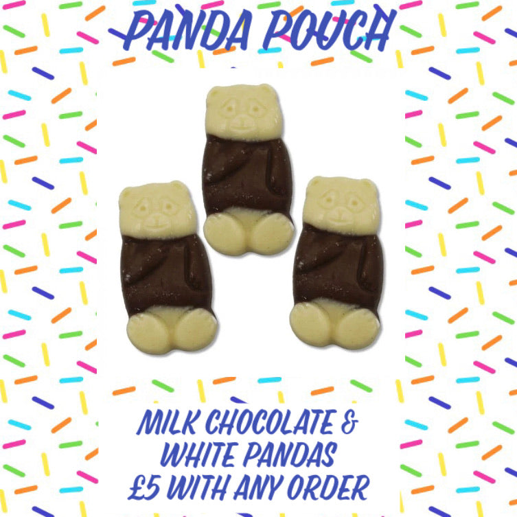 Candy Queens Panda Pouch
