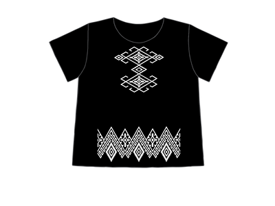 Black & White | Sabaku Artwear | Unique Silk Screened Apparel Inspired by the Southwest