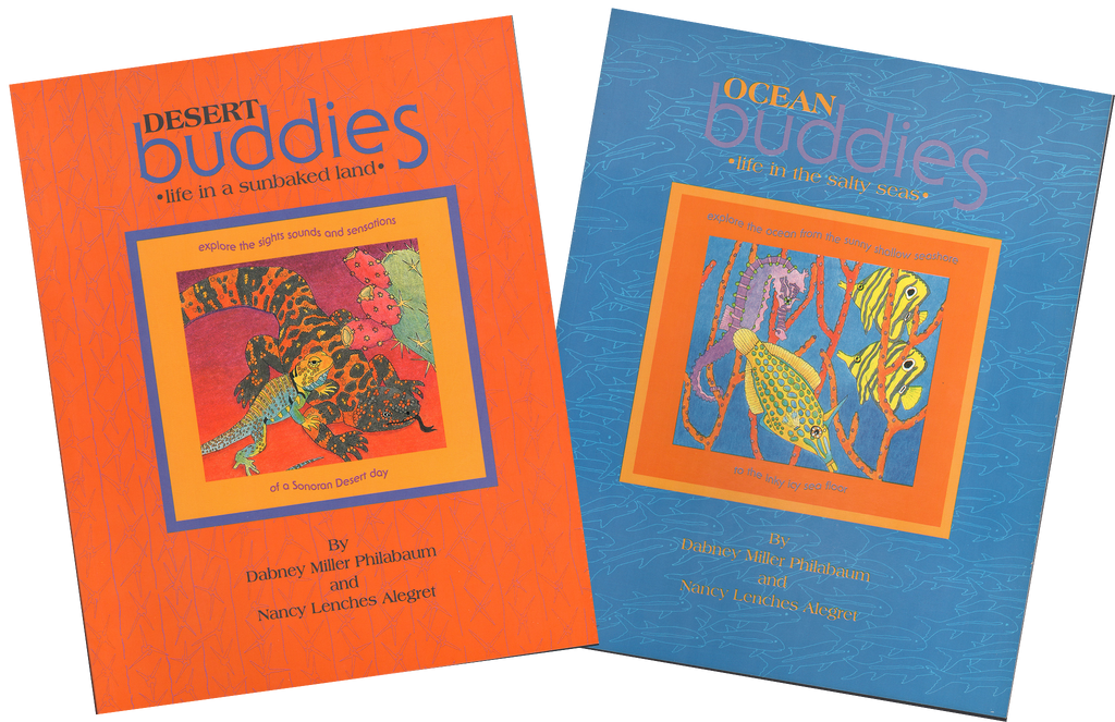 Desert Buddies and Ocean Buddies Book Combo