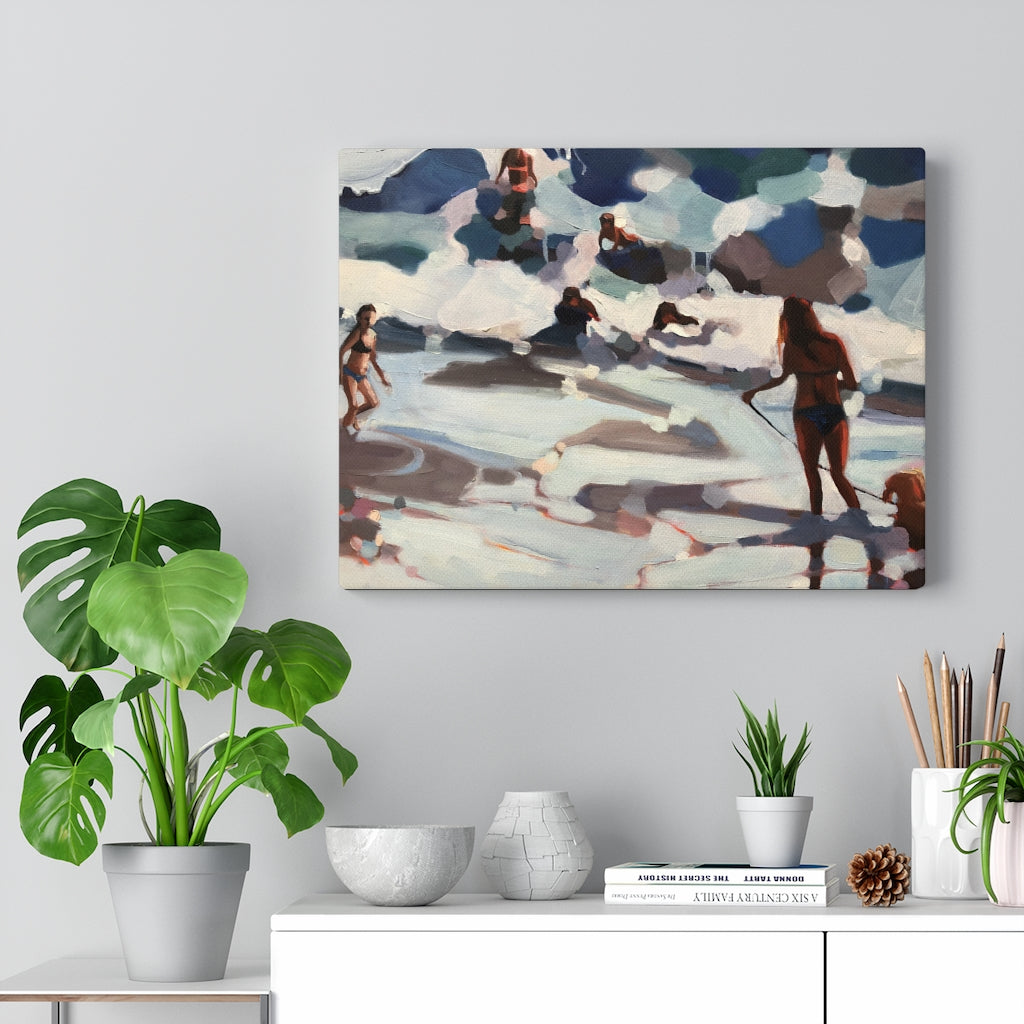 "Limited edition canvas prints of "" Shapes of summer """