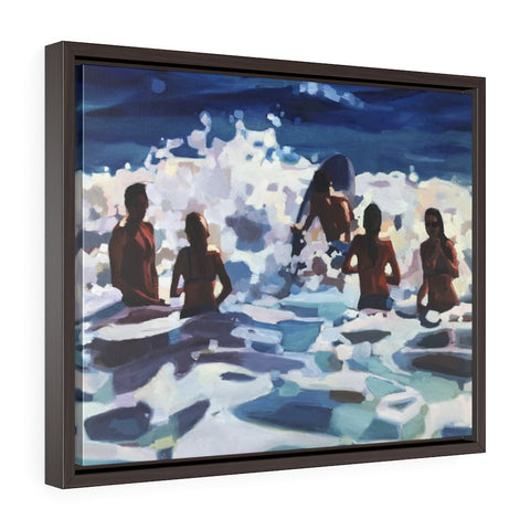 "Framed Limited edition canvas prints of ""Sweet summertime"""