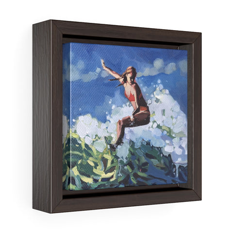 "Framed Limited edition canvas prints of ""Girl Power"""