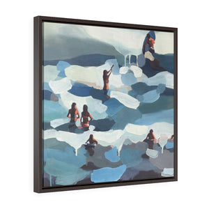 "Framed Limited edition canvas prints of""Blue Ryhthm""'"