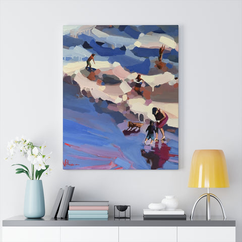 "Limited edition canvas prints of "" Halcyon Days"""