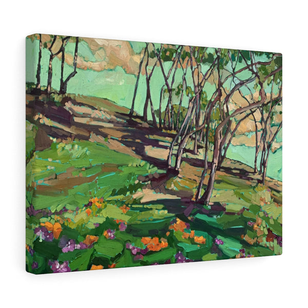 "Limited edition canvas prints of ""Wild about Green"""