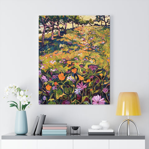 "Limited edition canvas prints of ""Rhapsody in Orange"""