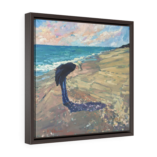 "Framed Limited edition canvas prints ""Shelling"""
