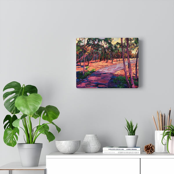 "Limited edition canvas prints of ""The Path"""