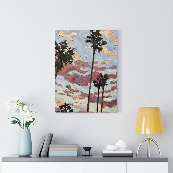 Limited edition canvas prints of San Diego Sundown""