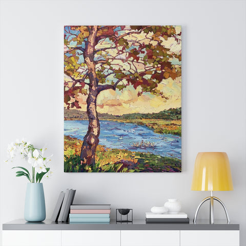 "Limited edition canvas prints of ""Fall in the Light"""