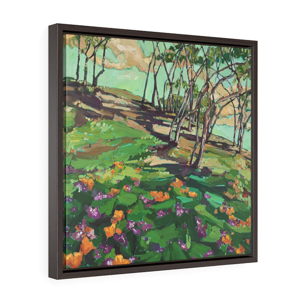 "Framed Limited Edition Canvas reproductions of ""Wild about green """