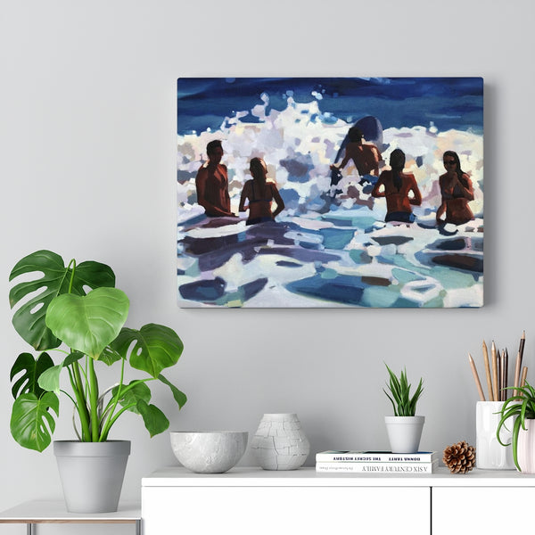 "Limited edition canvas prints of ""sweet summertime"""