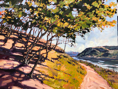 """Path at Batiquitos lagoon"" SOLD"